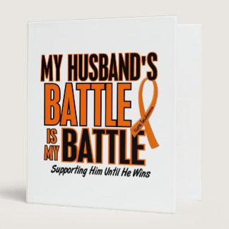 My Battle Too Husband Leukemia Binder