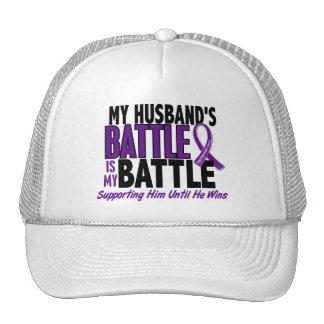 My Battle Too Husband Pancreatic Cancer Hat