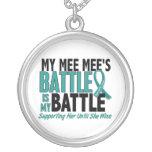 My Battle Too Mee Mee Ovarian Cancer Pendant