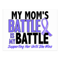 My Battle Too Mom Esophageal Cancer Postcard