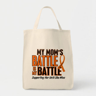 My Battle Too Mom Leukemia Tote Bag
