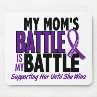 My Battle Too Mom Pancreatic Cancer Mouse Pad