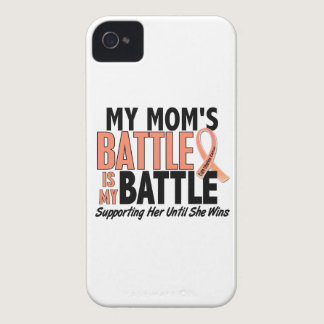 My Battle Too Mom Uterine Cancer iPhone 4 Case-Mate Case