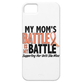 My Battle Too Mom Uterine Cancer iPhone SE/5/5s Case
