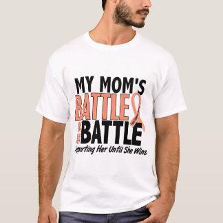 My Battle Too Mom Uterine Cancer T-Shirt