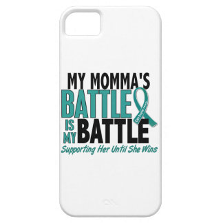 My Battle Too Momma Ovarian Cancer iPhone SE/5/5s Case