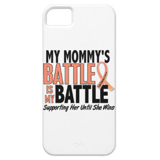 My Battle Too Mommy Uterine Cancer iPhone SE/5/5s Case