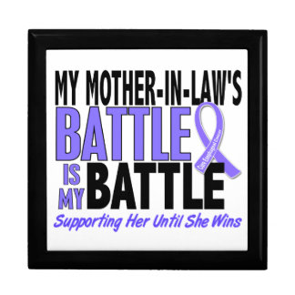 My Battle Too Mother-In-Law Esophageal Cancer Jewelry Box
