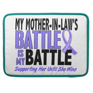 My Battle Too Mother-In-Law Esophageal Cancer MacBook Pro Sleeve
