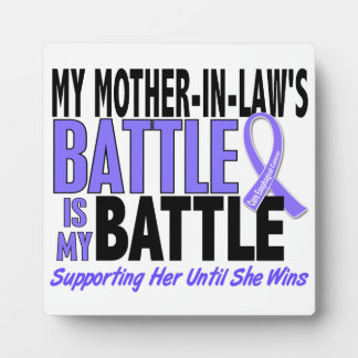 My Battle Too Mother-In-Law Esophageal Cancer Plaque
