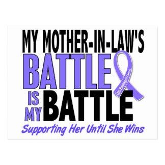 My Battle Too Mother-In-Law Esophageal Cancer Postcard