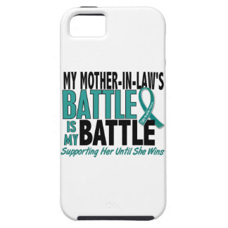 My Battle Too Mother-In-Law Ovarian Cancer iPhone SE/5/5s Case