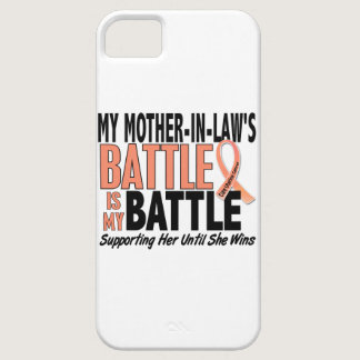 My Battle Too Mother-In-Law Uterine Cancer iPhone SE/5/5s Case