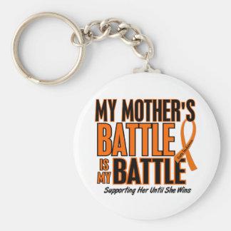 My Battle Too Mother Leukemia Key Chain