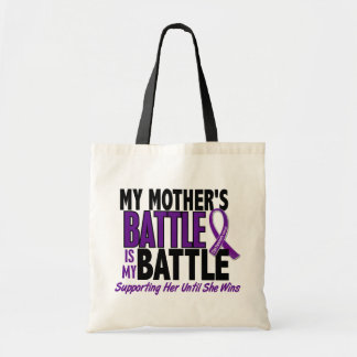 My Battle Too Mother Pancreatic Cancer Budget Tote Bag