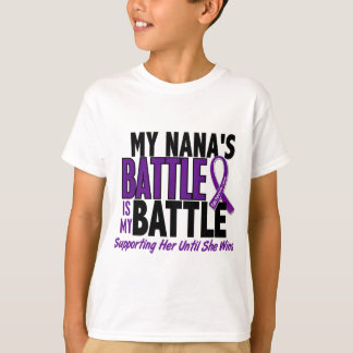 My Battle Too Nana Pancreatic Cancer T-Shirt
