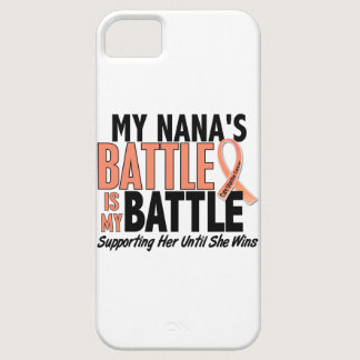 My Battle Too Nana Uterine Cancer iPhone SE/5/5s Case