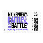 My Battle Too Nephew Esophageal Cancer Postage Stamp