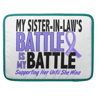 My Battle Too Sister-In-Law Esophageal Cancer MacBook Pro Sleeves