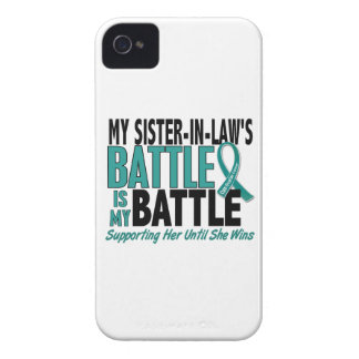 My Battle Too Sister-In-Law Ovarian Cancer iPhone 4 Case