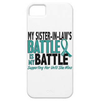 My Battle Too Sister-In-Law Ovarian Cancer iPhone SE/5/5s Case