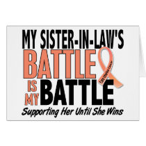 My Battle Too Sister-In-Law Uterine Cancer