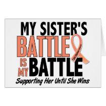 My Battle Too Sister Uterine Cancer