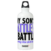 My Battle Too Son Esophageal Cancer Water Bottle