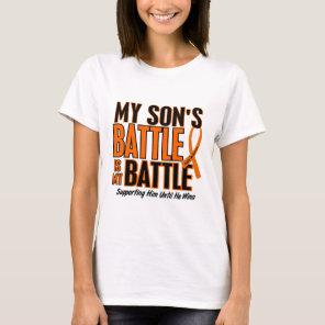My Battle Too Son Leukemia T-Shirt