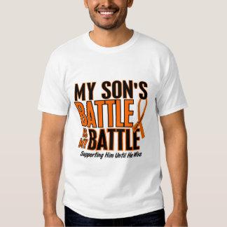 My Battle Too Son Leukemia T Shirts