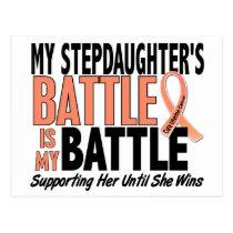 My Battle Too Stepdaughter Uterine Cancer Postcard
