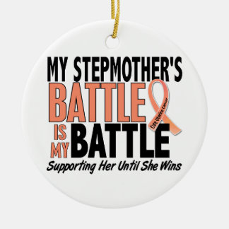 My Battle Too Stepmother Uterine Cancer Christmas Tree Ornaments