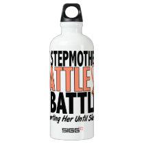 My Battle Too Stepmother Uterine Cancer Water Bottle