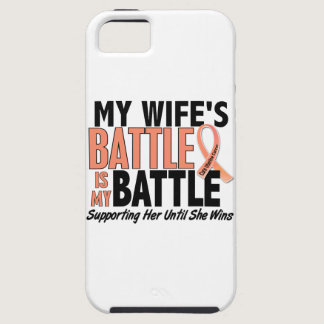 My Battle Too Wife Uterine Cancer iPhone SE/5/5s Case