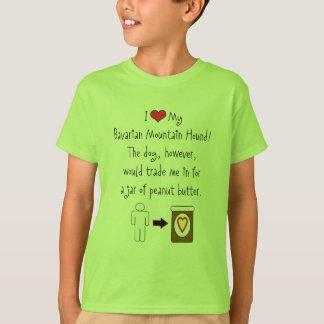 My Bavarian Mountain Hound Loves Peanut Butter T-Shirt