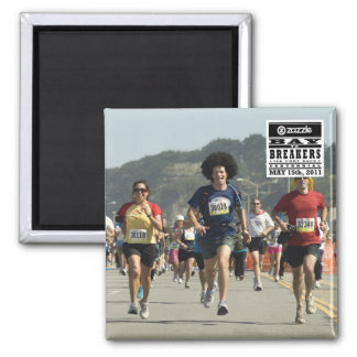 My Bay to Breakers Photo Magnet