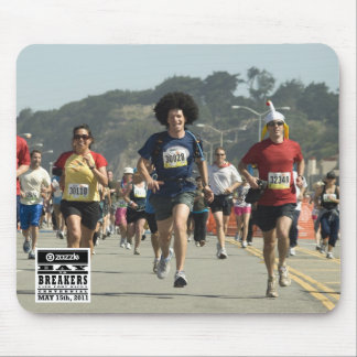 My Bay to Breakers Photo Mousepad