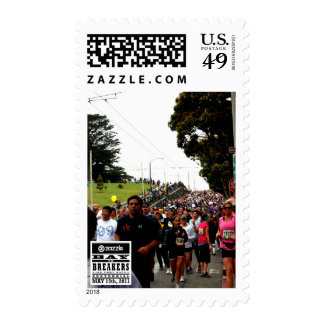 My Bay to Breakers Photo Postage