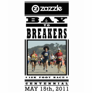 My Bay to Breakers Photo Statue Standing Photo Sculpture