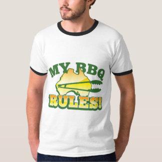 My BBQ RULES! barbecue Australian design T-Shirt