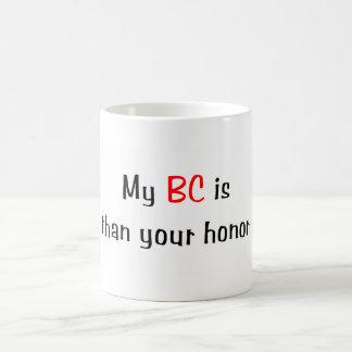 My BC is smarter... Mug