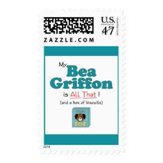 My Bea Griffon is All That! Postage