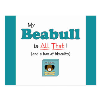 My Beabull is All That! Postcard