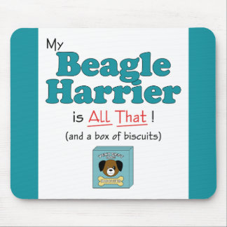 My Beagle Harrier is All That! Mouse Pad