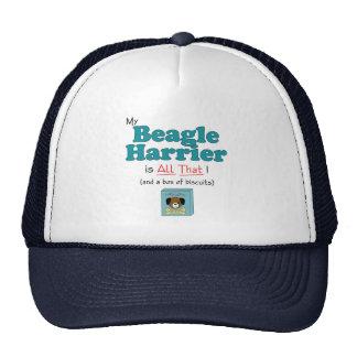 My Beagle Harrier is All That! Trucker Hat