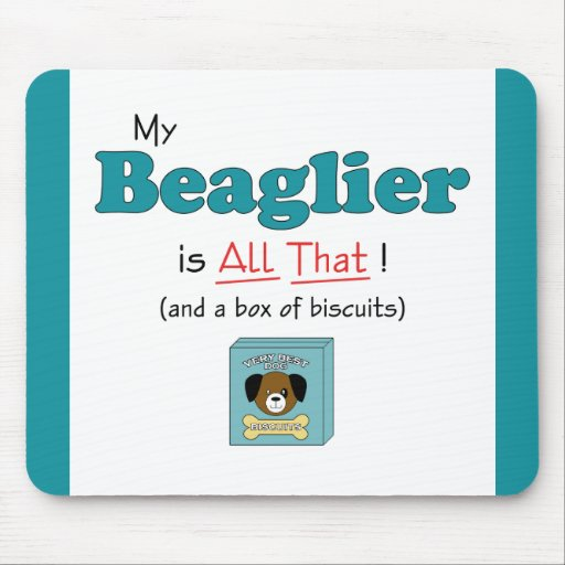 My Beaglier is All That! Mouse Pad