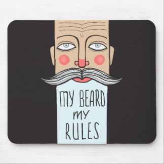My Beard, My Rules Mousepad