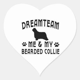 My Bearded Collie Dog Stickers