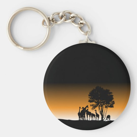 My Beautiful Africa Keychain
