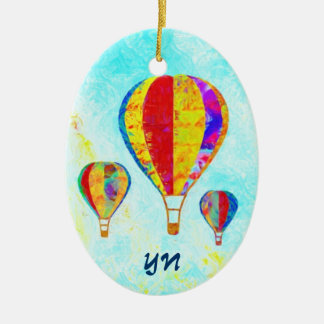 My Beautiful Balloons Ceramic Ornament